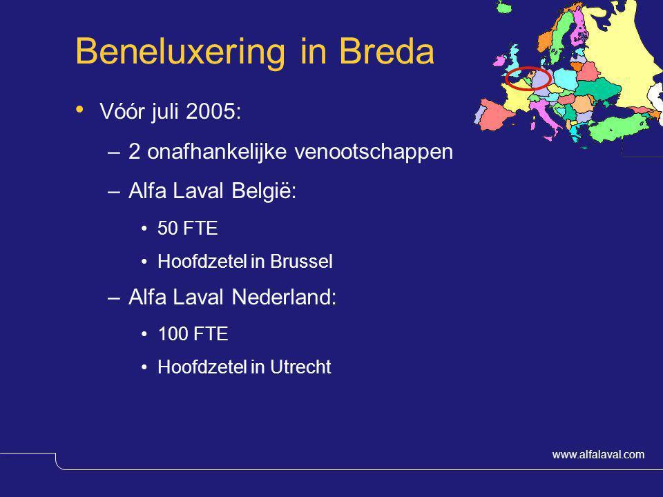 Beneluxering in Breda Vóór juli 2005: 2 onafhankelijke venootschappen