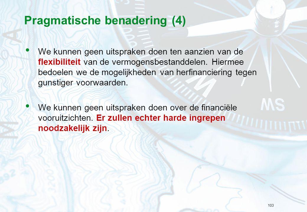 Pragmatische benadering (4)