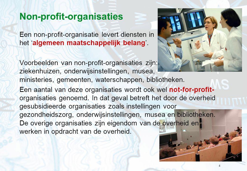 Non-profit-organisaties