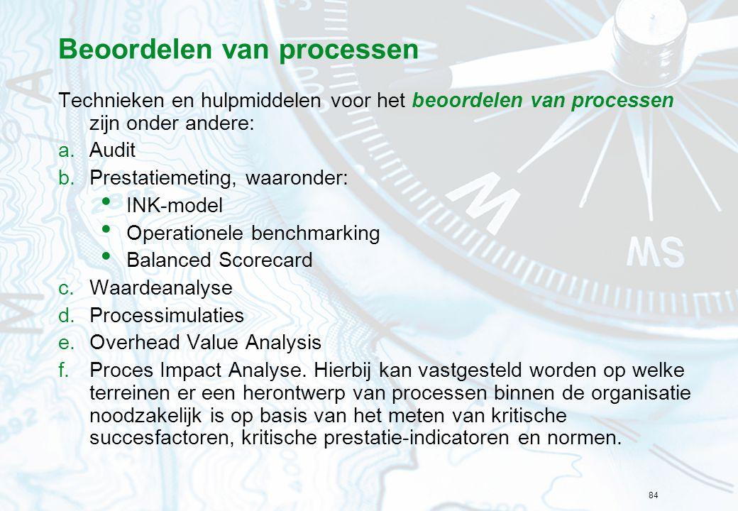 Beoordelen van processen