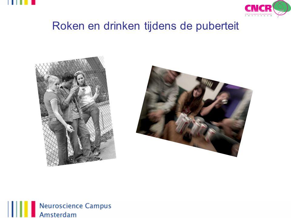 Roken en drinken tijdens de puberteit