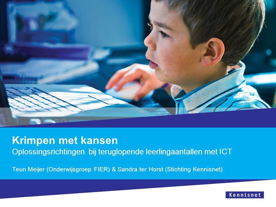 Oplossingsrichtingen bij teruglopende leerlingaantallen met ICT