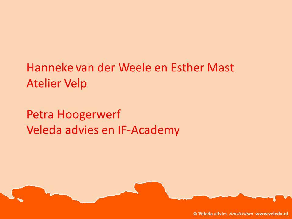 Hanneke van der Weele en Esther Mast. Atelier Velp. Petra Hoogerwerf