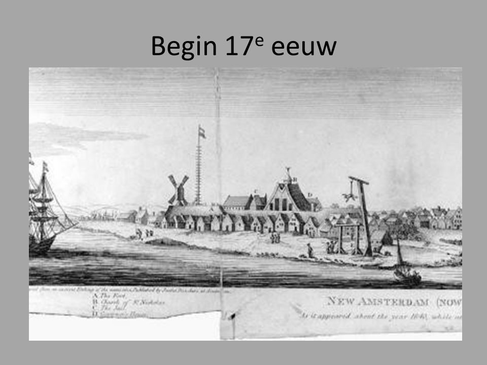 Begin 17e eeuw