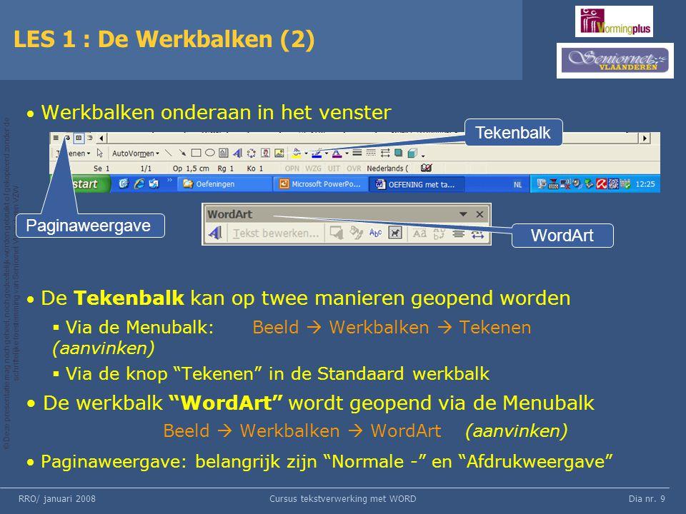 Cursus tekstverwerking met WORD