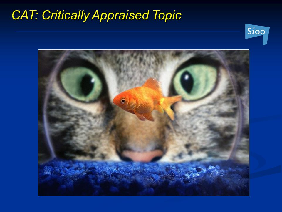 CAT: Critically Appraised Topic