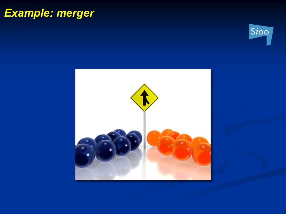 Example: merger
