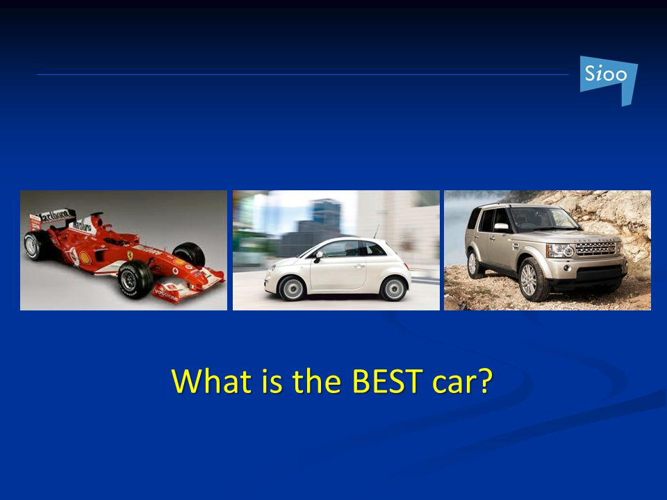 What is the BEST car
