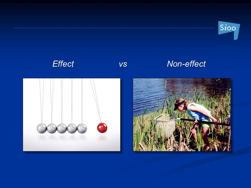 Effect vs Non-effect