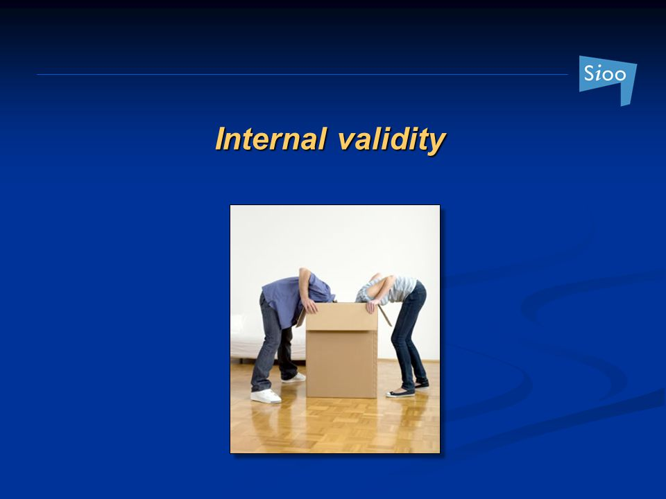 Internal validity