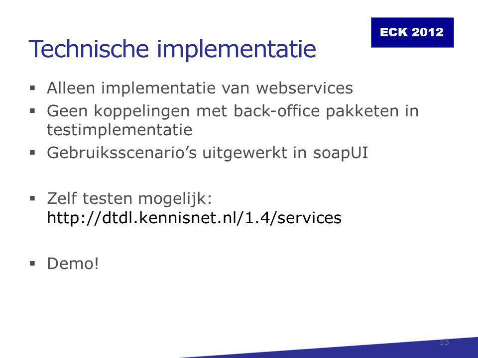 Technische implementatie