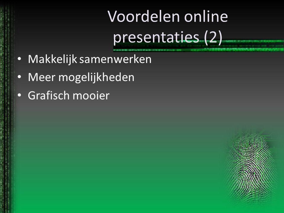 Voordelen online presentaties (2)