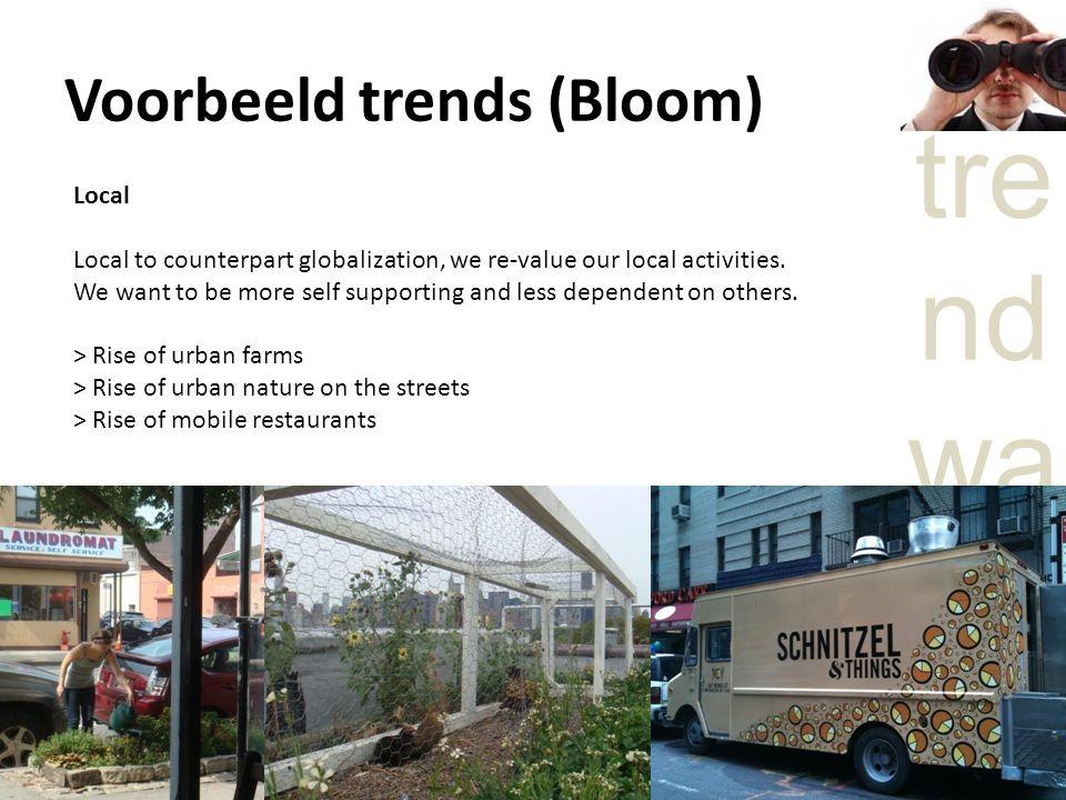 Voorbeeld trends (Bloom)