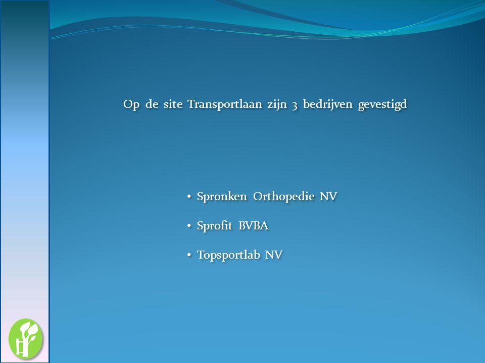 Op de site Transportlaan zijn 3 bedrijven gevestigd