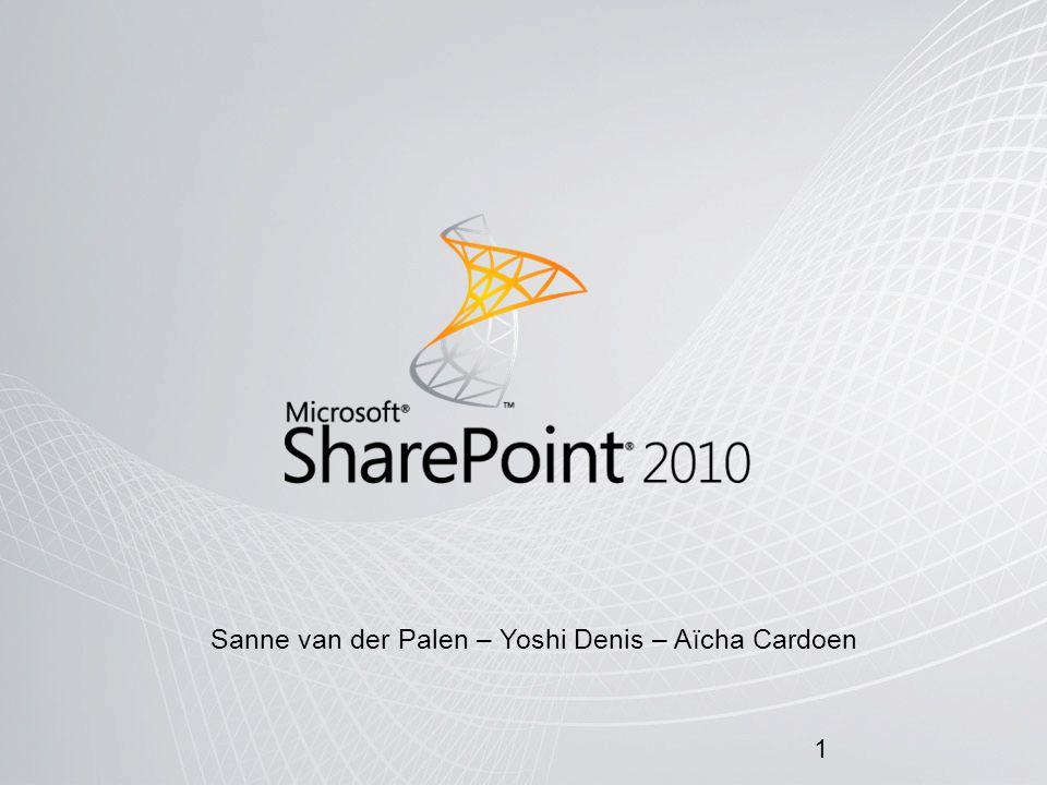 Sanne van der Palen – Yoshi Denis – Aïcha Cardoen