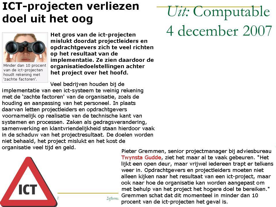 Uit: Computable 4 december 2007