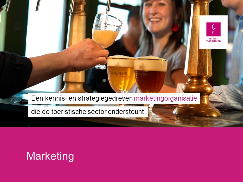 Marketing Een kennis- en strategiegedreven marketingorganisatie