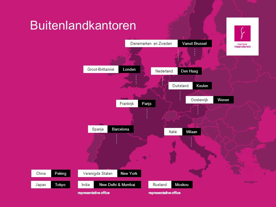 Buitenlandkantoren Denemarken en Zweden Vanuit Brussel