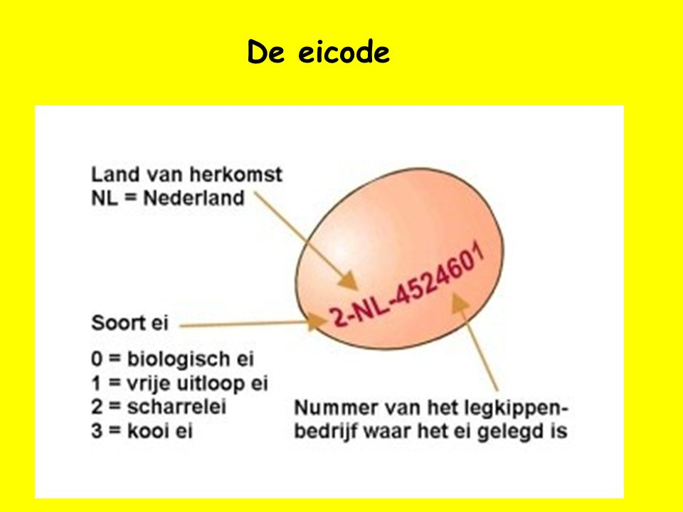 De eicode