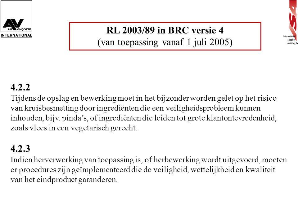 (van toepassing vanaf 1 juli 2005)