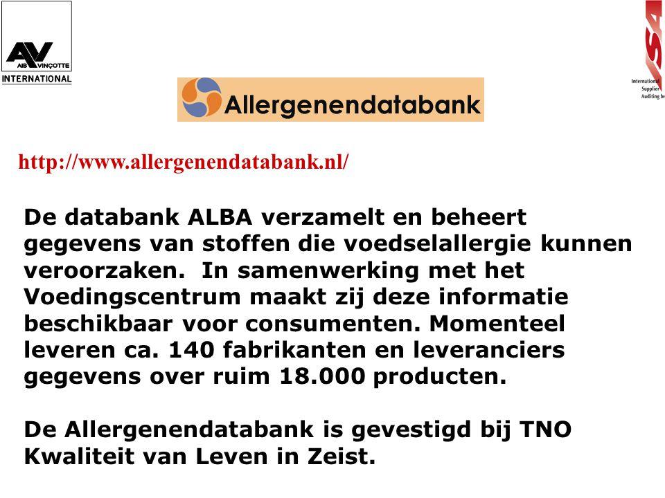 http://www.allergenendatabank.nl/