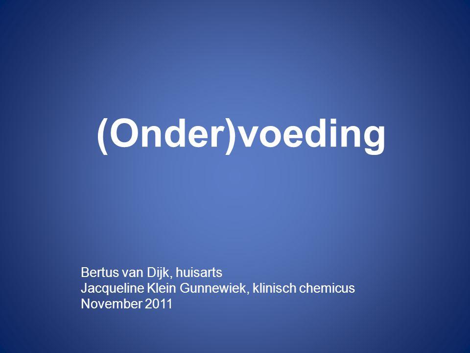 (Onder)voeding Bertus van Dijk, huisarts