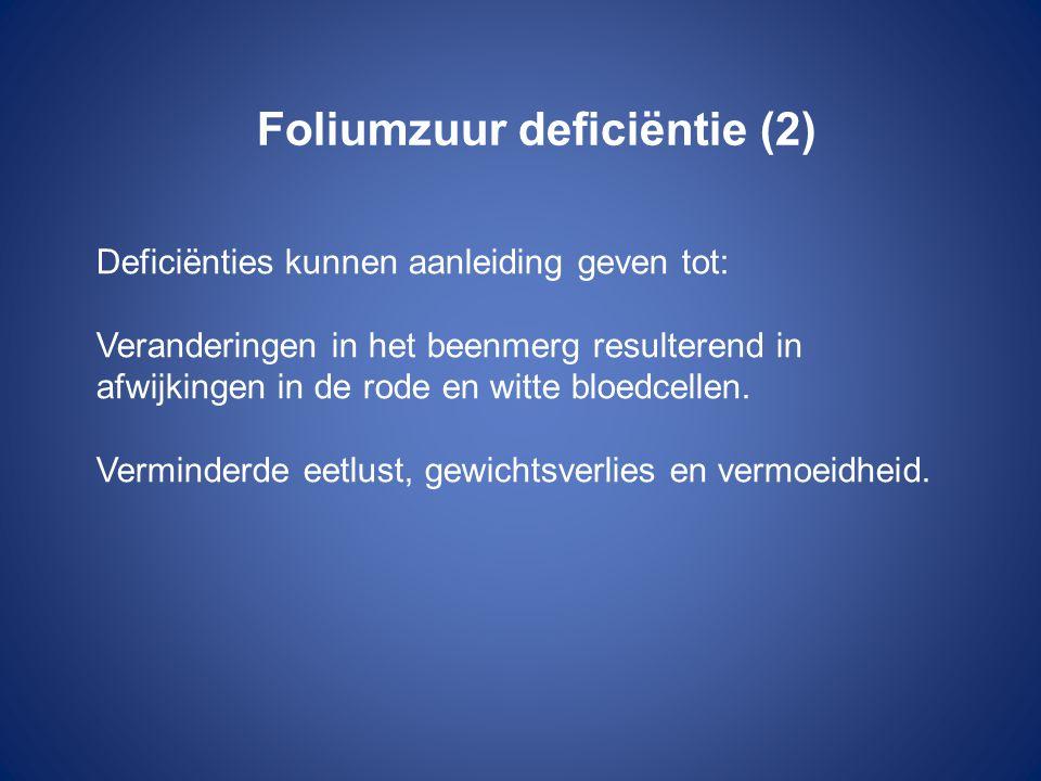 Foliumzuur deficiëntie (2)