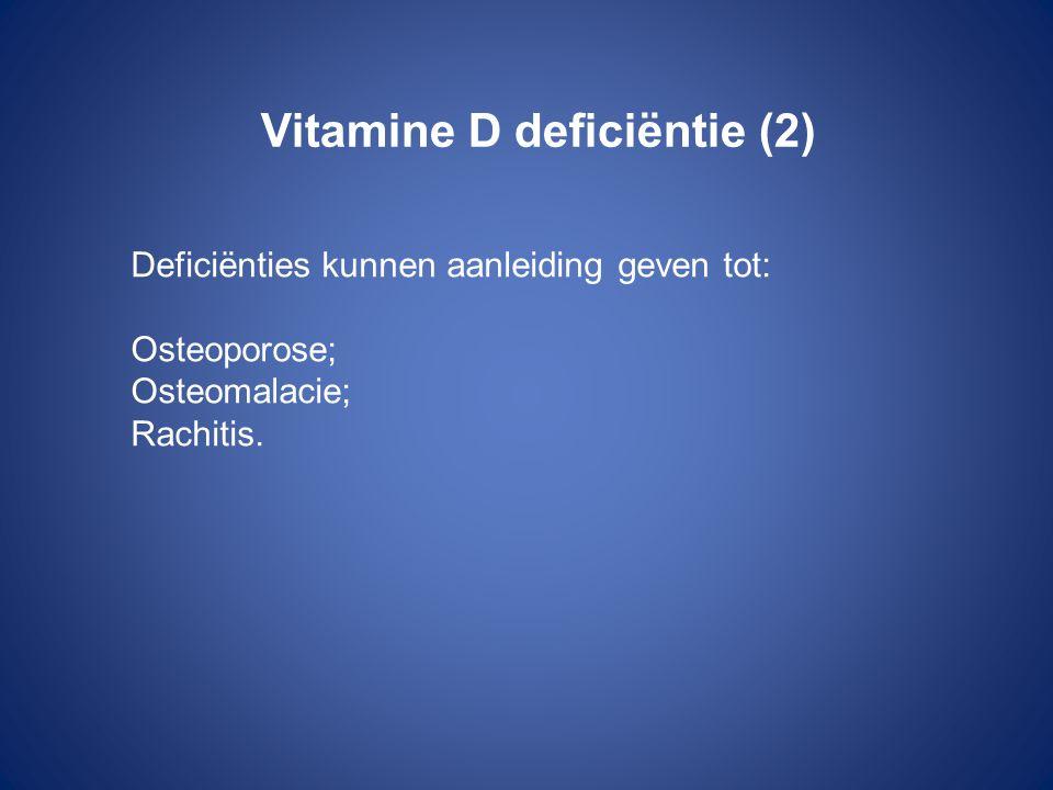 Vitamine D deficiëntie (2)