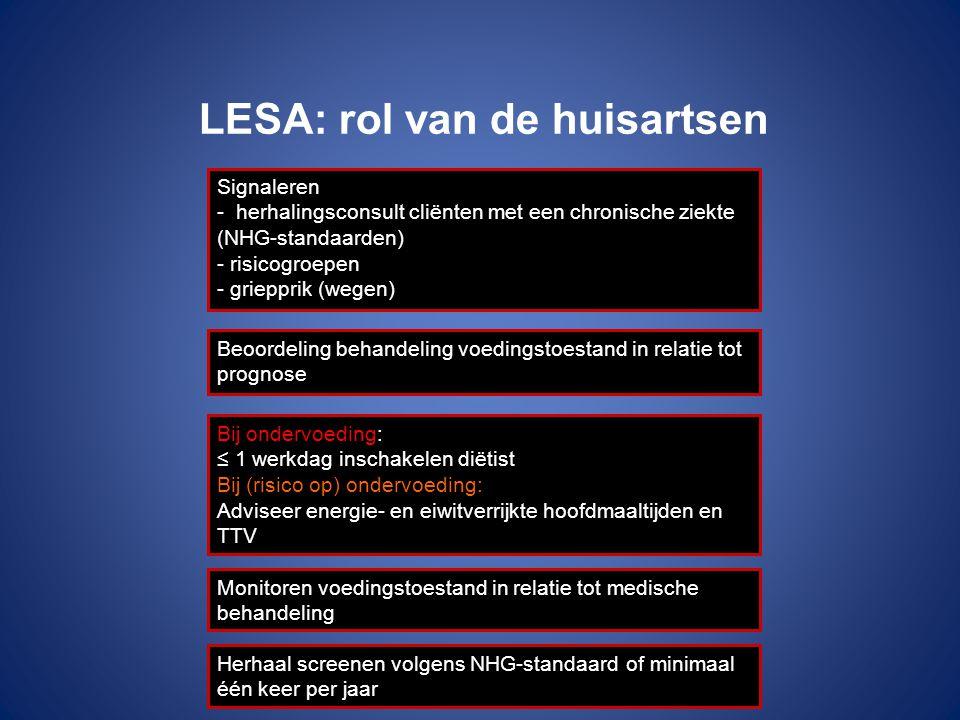 LESA: rol van de huisartsen