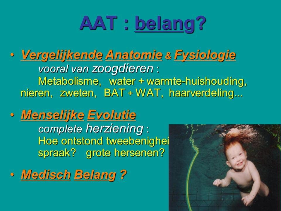 AAT : belang