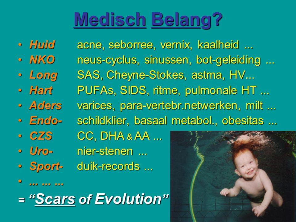 Medisch Belang Huid acne, seborree, vernix, kaalheid ...