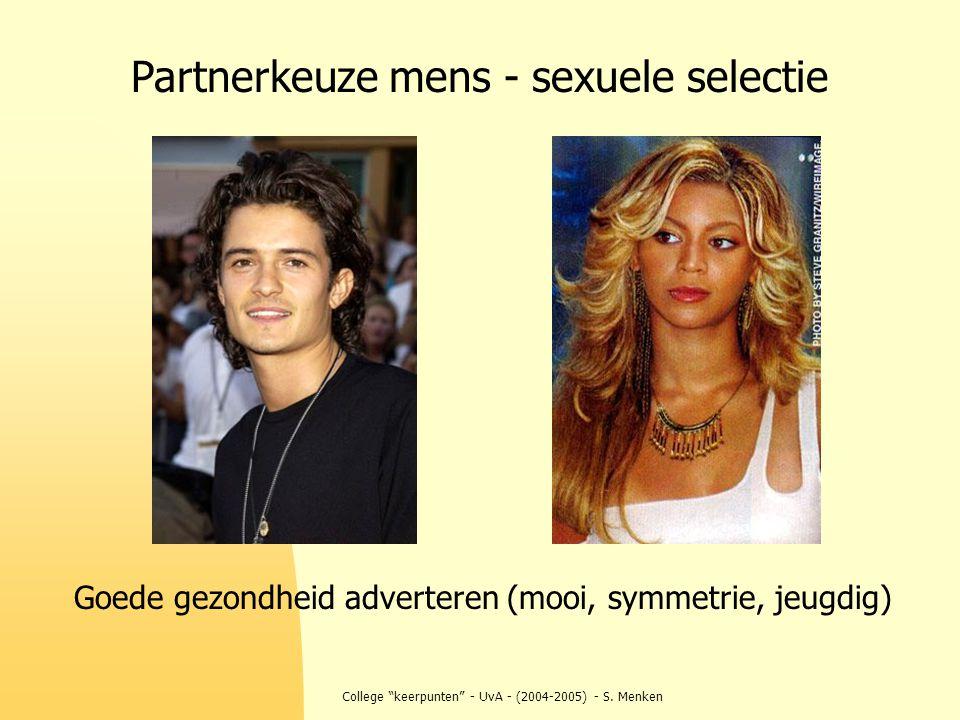 Partnerkeuze mens - sexuele selectie