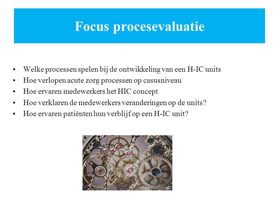 Focus procesevaluatie