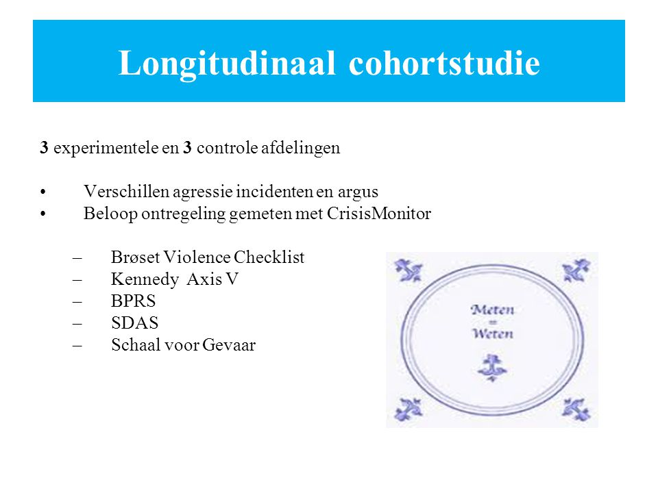 Longitudinaal cohortstudie