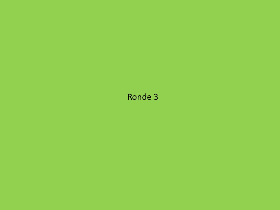 Ronde 3