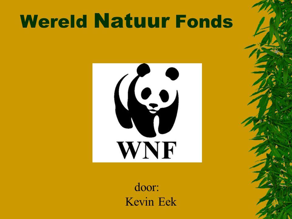 Wereld Natuur Fonds door: Kevin Eek