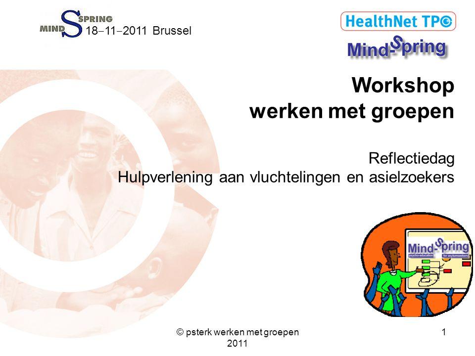 © psterk werken met groepen 2011