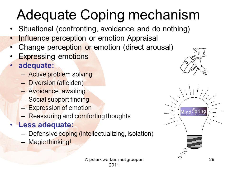 Adequate Coping mechanism