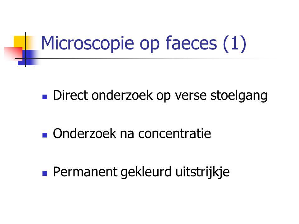Microscopie op faeces (1)