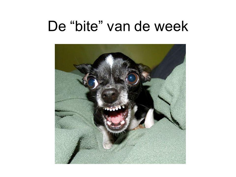 De bite van de week