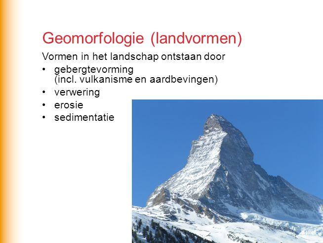 Geomorfologie (landvormen)