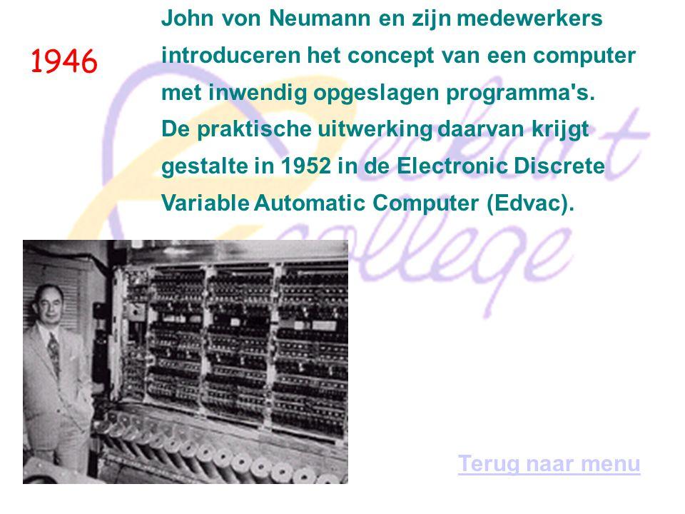 1946 John von Neumann en zijn medewerkers