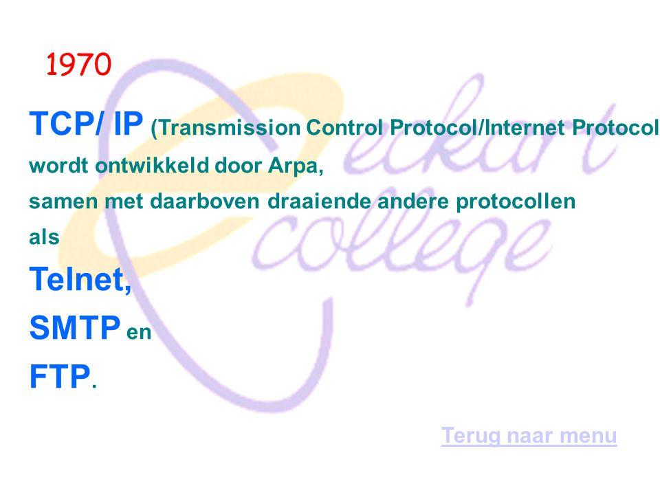 TCP/ IP (Transmission Control Protocol/Internet Protocol)
