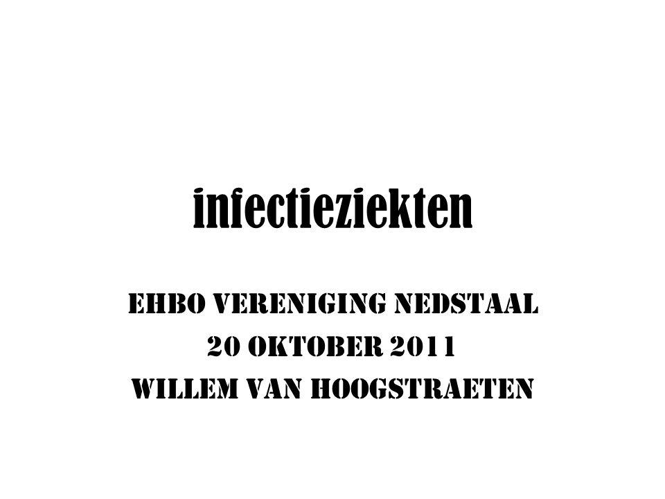 EHBO VERENIGING NEDSTAAL 20 oktober 2011 Willem van Hoogstraeten