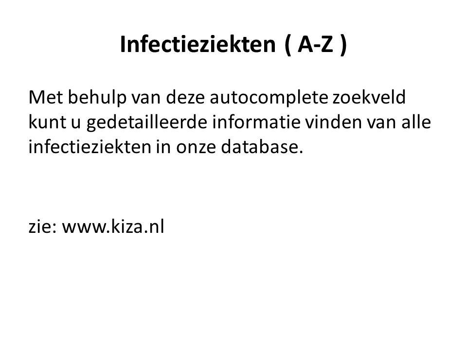 Infectieziekten ( A-Z )