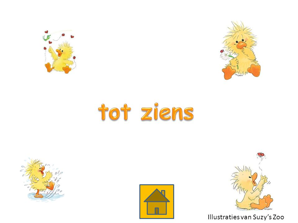 tot ziens Illustraties van Suzy's Zoo