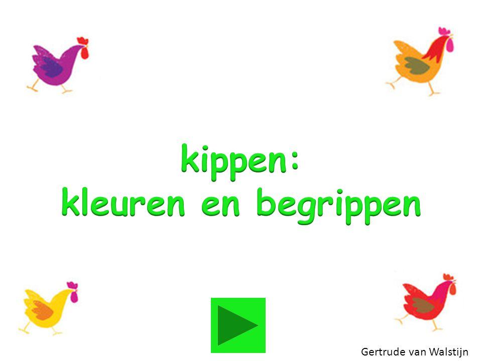 kippen: kleuren en begrippen