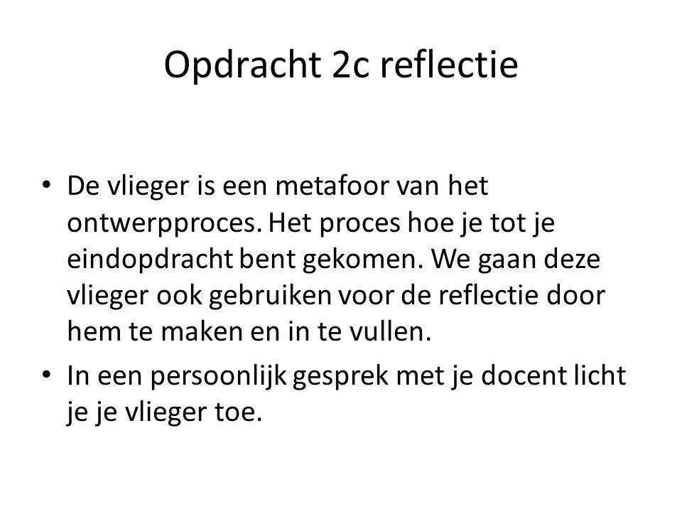Opdracht 2c reflectie