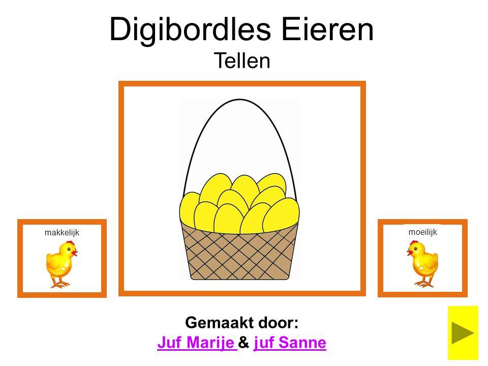 Digibordles Eieren Tellen Gemaakt door: Juf Marije & juf Sanne