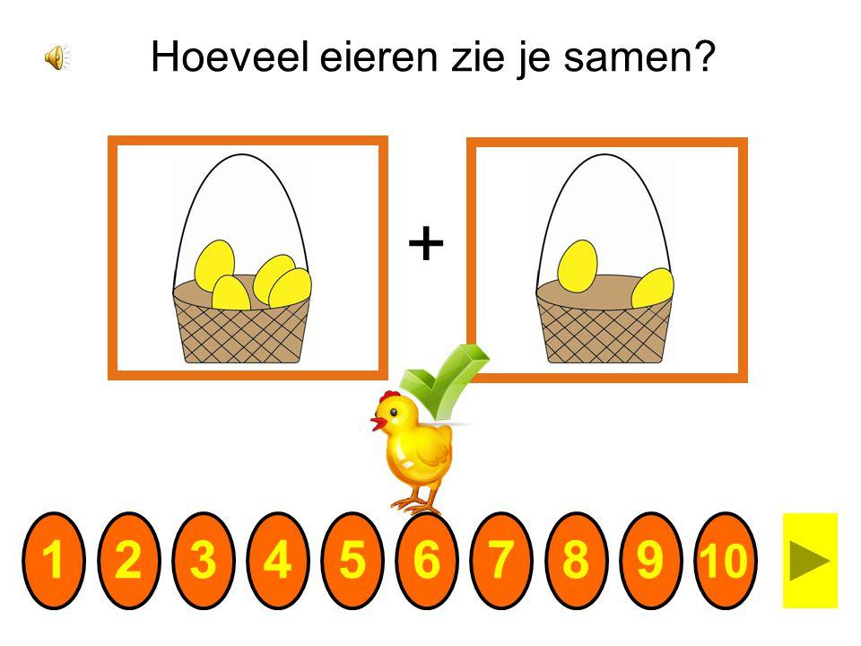Hoeveel eieren zie je samen
